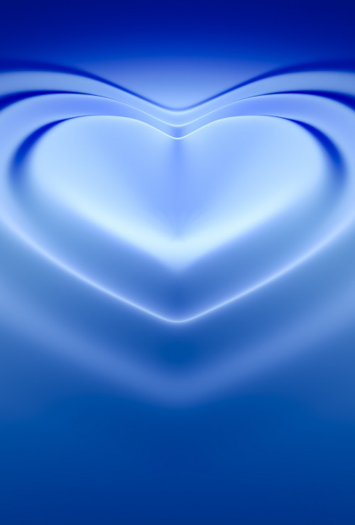 An image of a beautiful heart wave background